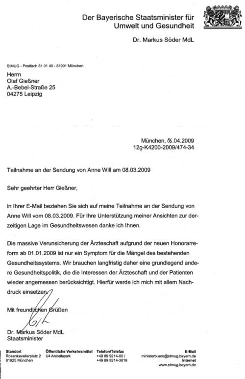 Brief Gestalten Datum : Dr olaf gießner